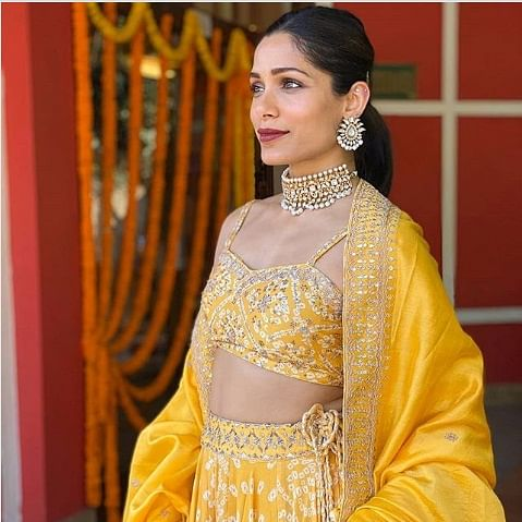 'Slumdog Millionaire' star Freida Pinto to headline series based on US Marine Anuradha Bhagwati