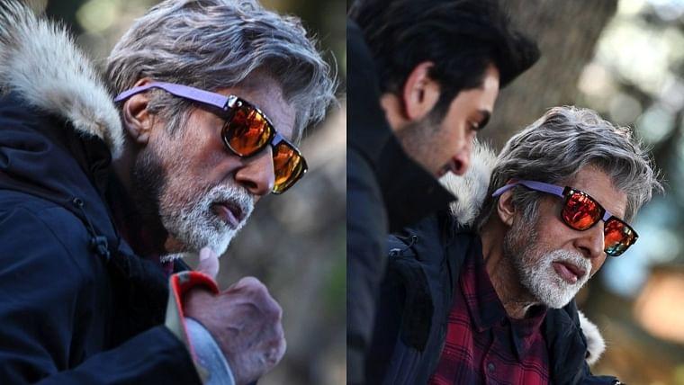 Brahmastra: Amitabh Bachchan shoots in minus three-degree weather with Ranbir Kapoor in Manali