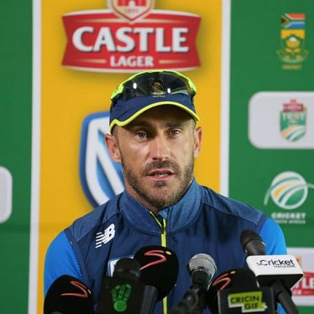 Faf Du Plessis unhappy with 'Big 3' takeover