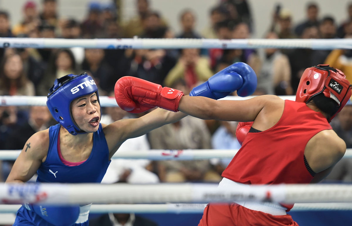 'Why should I shake hands with her?': Mary Kom snubs Nikhat Zareen after defeating her