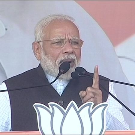 Mandate in Karnataka stolen through back door; people taught Congress lesson: PM Modi
