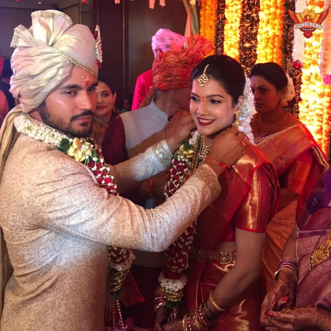 Day after leading Karnataka to glory Manish Pandey ties the knot with actor Ashrita Shetty