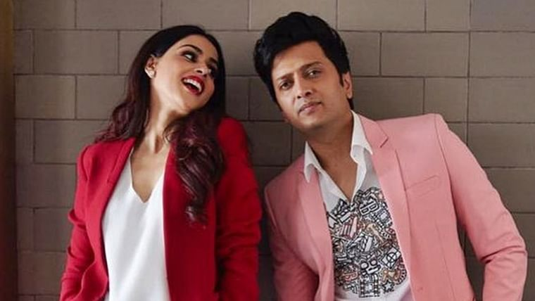 My light, my life, my everything: Riteish Deshmukh's sweet birthday note for wife Genelia