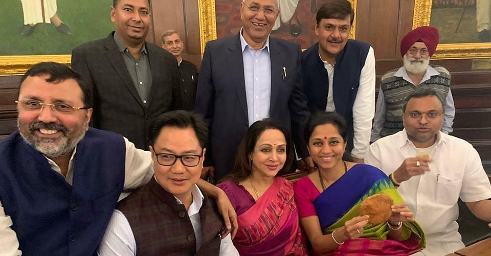 Divided by parties, united by kachori: Supriya's IG post from parl shows politics isn't as divisive as we think