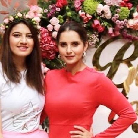 Sania Mirza shares inside pics from sister Anam's floral-themed bridal shower