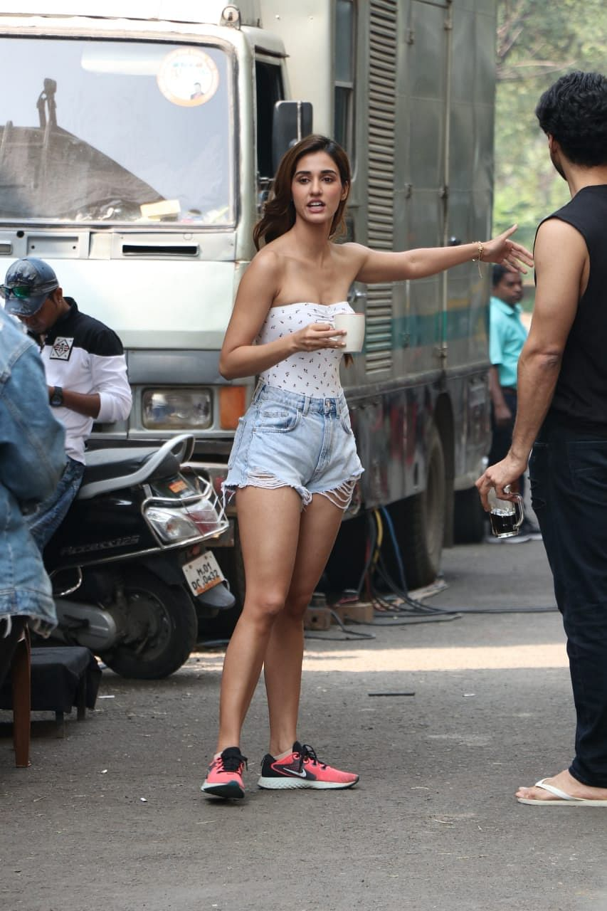 Disha Patani rocking the casual chic look