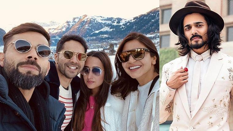 'Why Switzerland, come to Delhi': Bhuvan Bam turns trip advisor for Varun-Natasha, Virat-Anushka