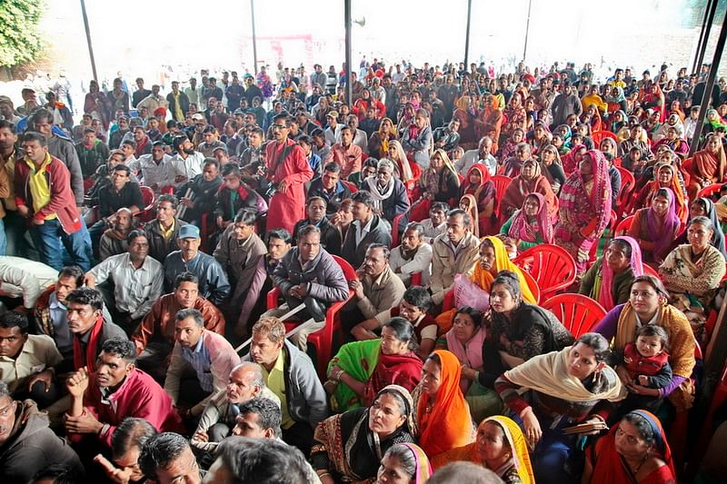 'Divyang Marriage Introduction Conference':  More than 33 couples of different religions hit it off in Ujjain