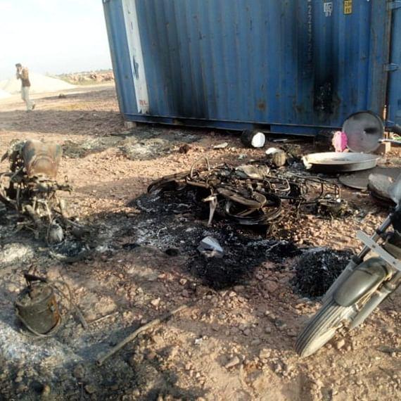 150 men break into under-construction solar power plant, set ablaze vehicles in Jodhpur