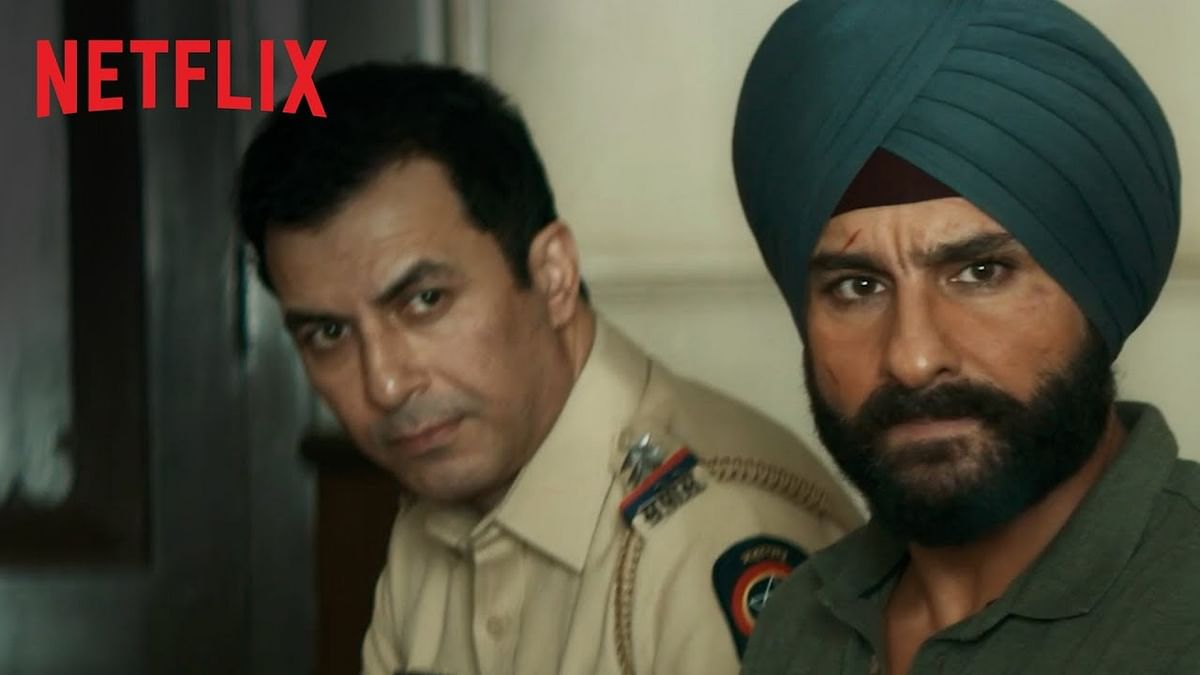 Majid and Sartaj in Sacred Games