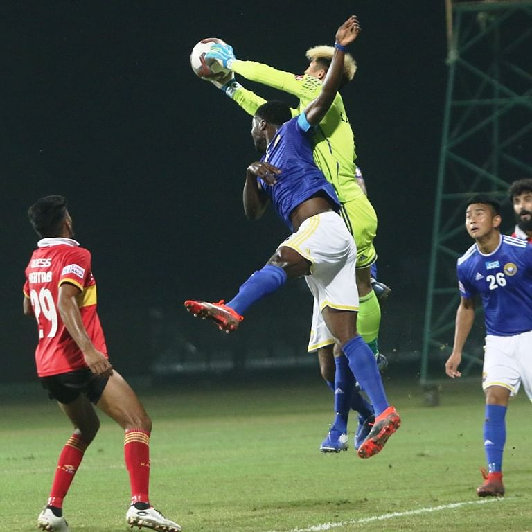 East Bengal hold Real Kashmir to 1-1 draw in I-League