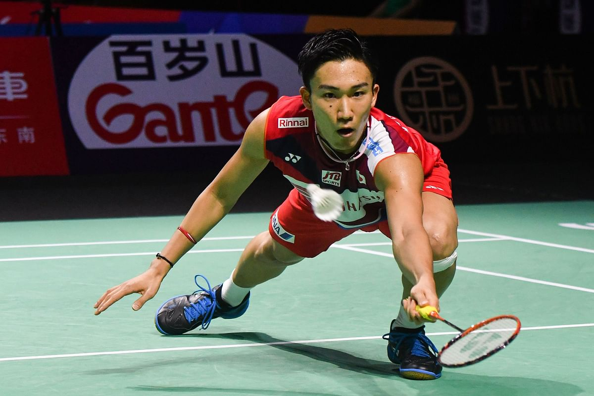 Badminton champion Kento Momota flies back home two days after car crash