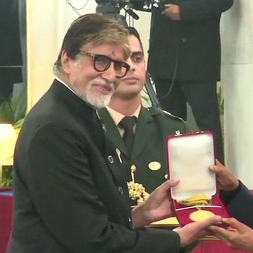 Shahenshah Amitabh Bachchan honoured with prestigious Dadasaheb Phalke award