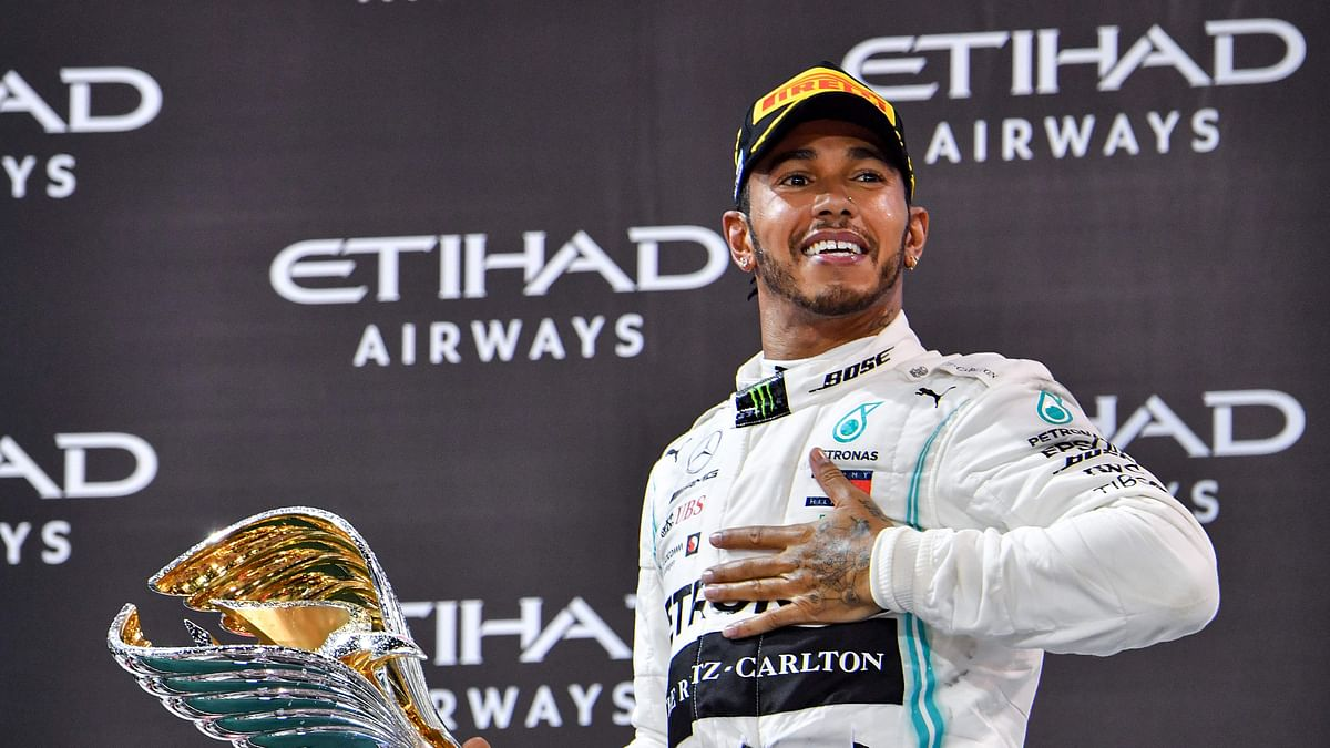 Lewis Hamilton claims record 156th podium finish with win at Spanish Grand Prix