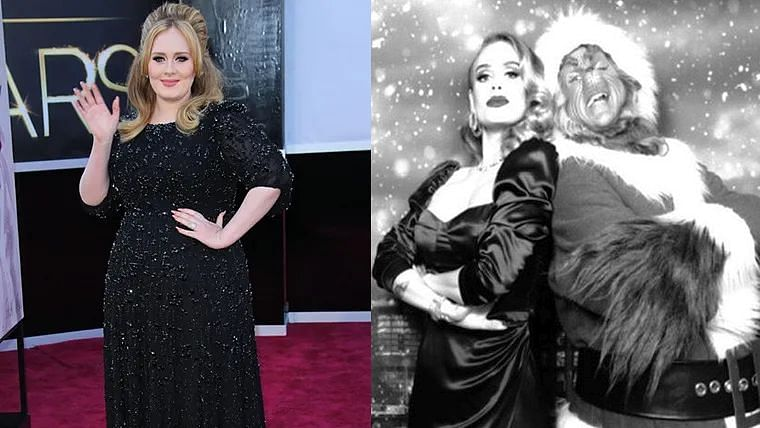 Adele then and now