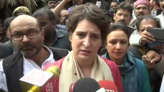 Oppn mounts pressure on Yogi; Holds massive protests across UP, Priyanka Gandhi takes lead