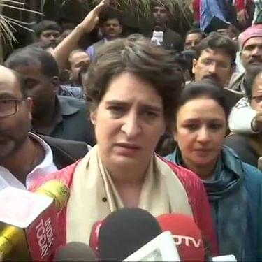Oppn mounts pressure on Yogi; Holds massive protests across UP, Priyanka Gandhi takes lead