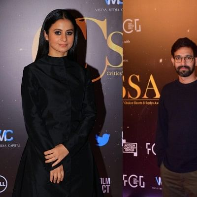 Vikrant Massey, Rasika Dugal and other celebs grace the Critics' Choice Shorts and Series Awards