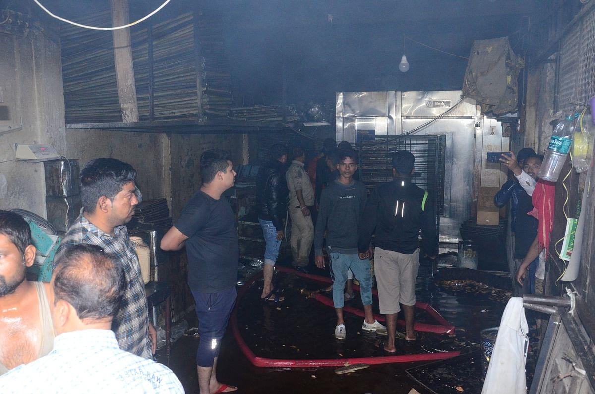 Ujjain: Fire erupts in bakery beneath Madarsa