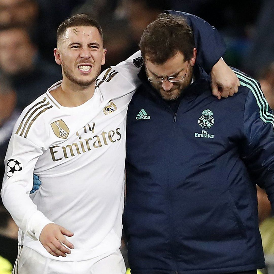 Eden Hazard ruled out of El Clasico with fractured ankle