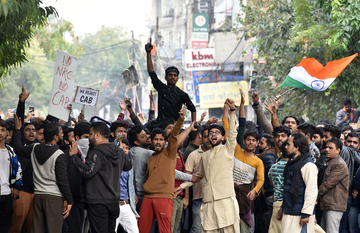 AMU, IIT, Nadwa college students protest in support of Jamia students after their violent clash with police