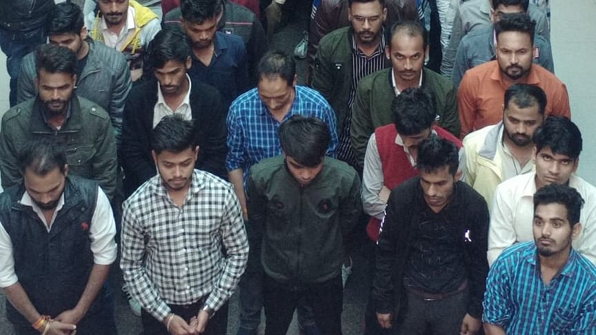 Indore: STF raids share advisory company, arrests 48