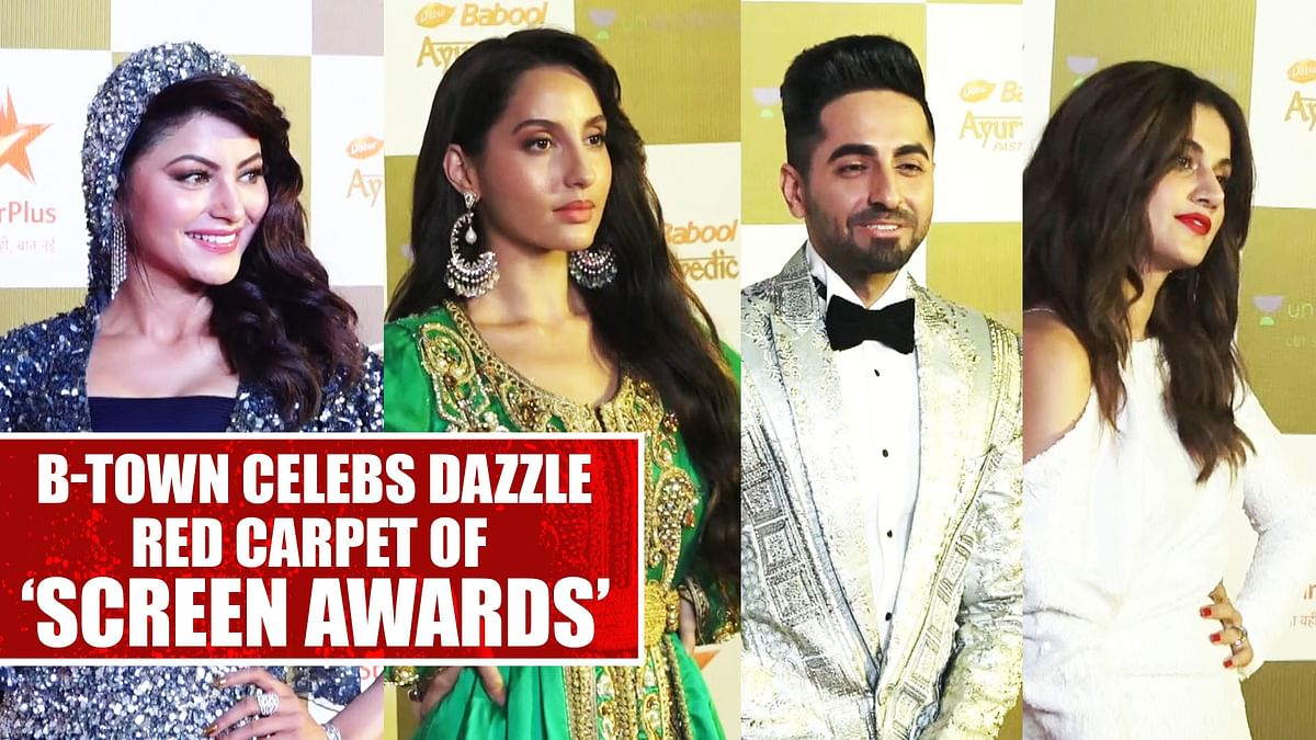 Bollywood celebs dazzle red carpet of 'Screen Awards'