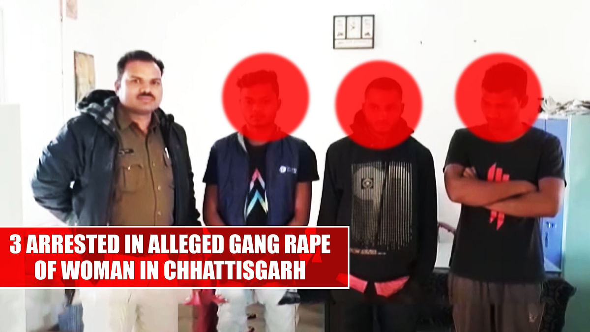 3 arrested in alleged gang rape of woman in Chhattisgarh's Jashpur