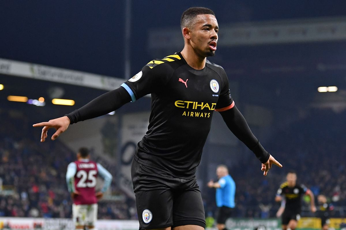 EPL: Jesus scores twice, Man City 4-1 victory over Burnley FC