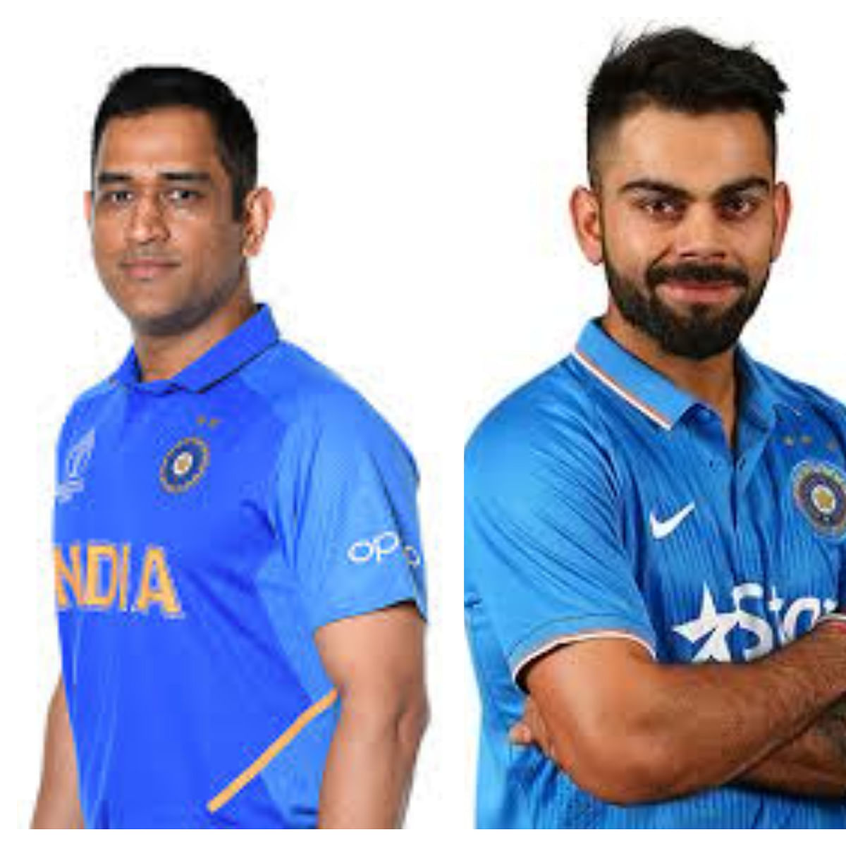 In Pictures: 5 Indian cricketers then vs now