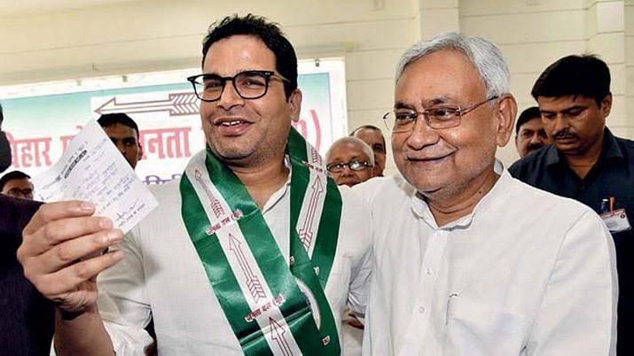 'Happy that coronavirus is leaving us': JDU leader hits out at Prashant Kishor
