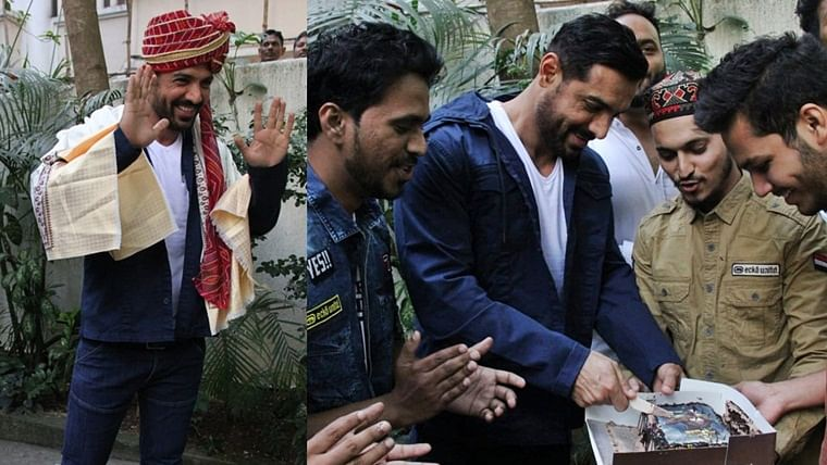 In Pics: John Abraham receives a sweet surprise from fans on birthday