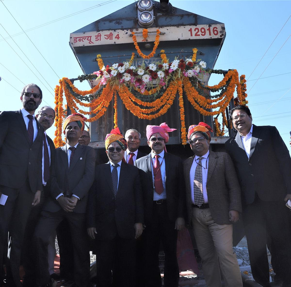 DFCCIL conducts inaugural trial run of Indian Railways freight trains