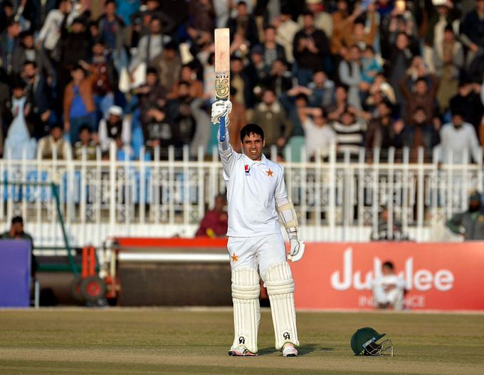 Pakistan batsman Abid Ali creates extraordinary record