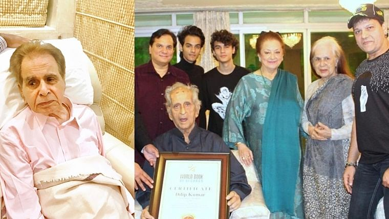 Dilip Kumar's brothers test positive for COVID-19, admitted to hospital