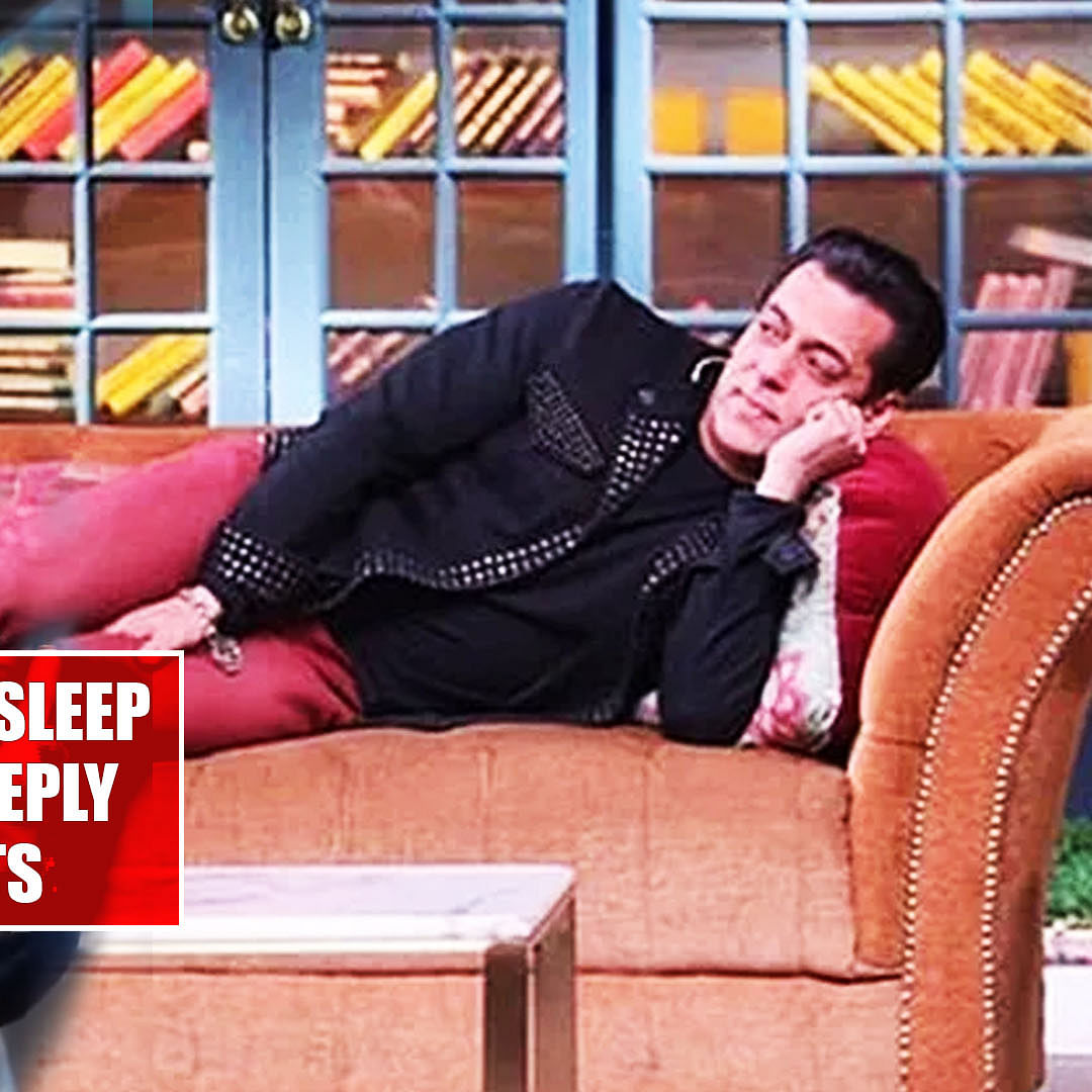 Salman Khan says he can't sleep on a bed, Kapil Sharma's reply leaves everyone in splits