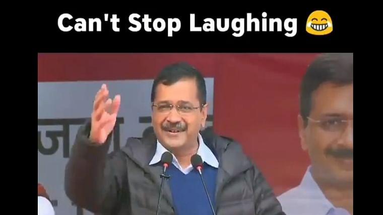 Watch: Kejriwal hilariously backtracks on his claim of providing 'Dawa-Daru' to Delhiites