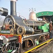 Tourists have joy ride on world's oldest working locomotive