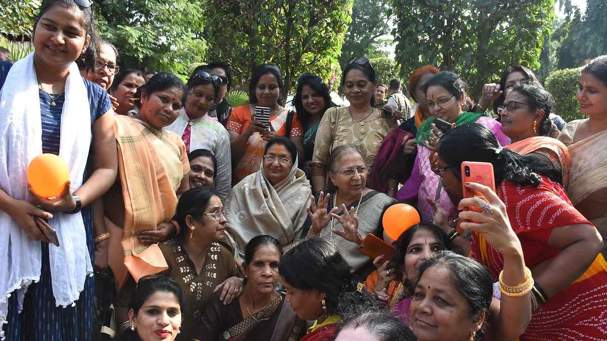 Rahul Gandhi is childish, says Sumitra Mahajan