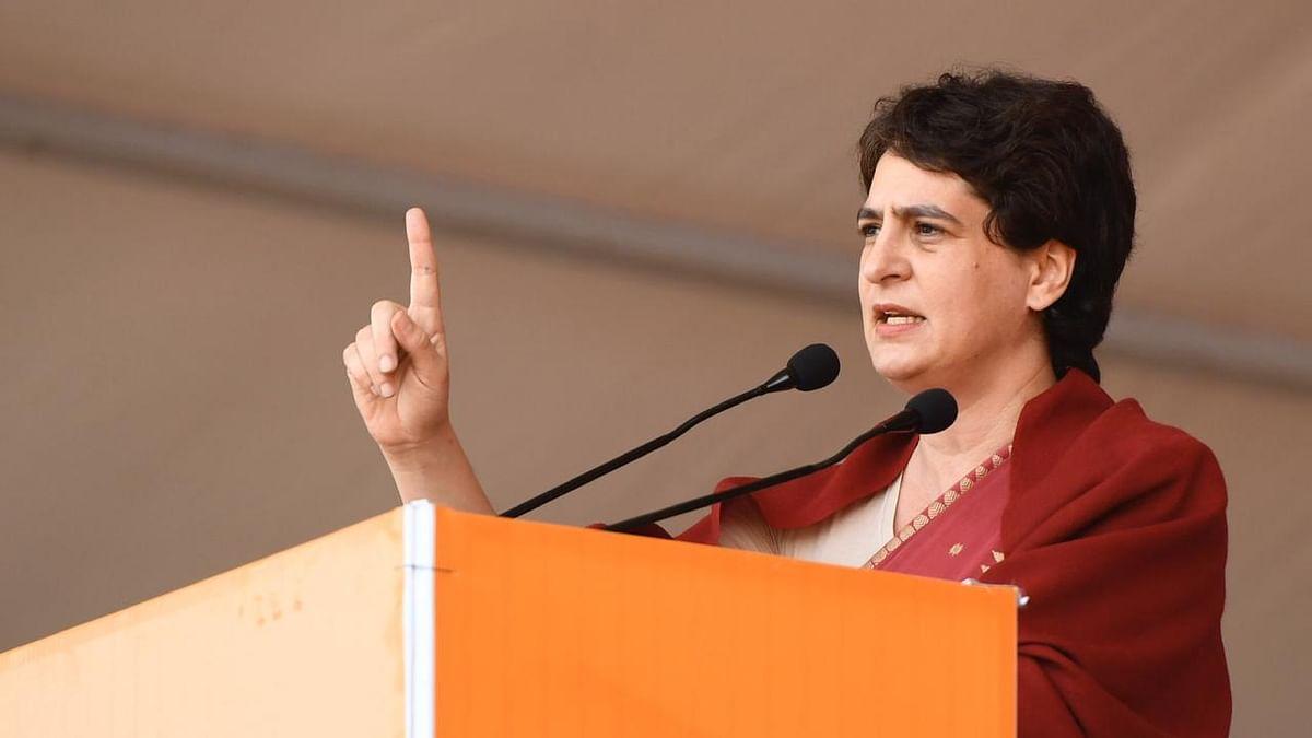 Do you stand with violence or non-violence, Priyanka Gandhi asks Modi