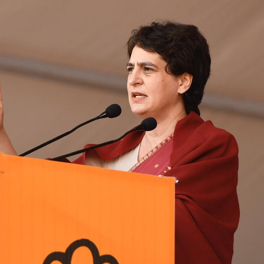 Priyanka Gandhi accuses government of waiving Rs 8 lakh crore loan of 'Modiji's capitalist friends'