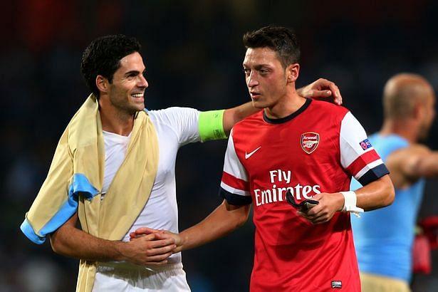 Mikel Arteta shows faith in Mesut Ozil ahead of London Derby