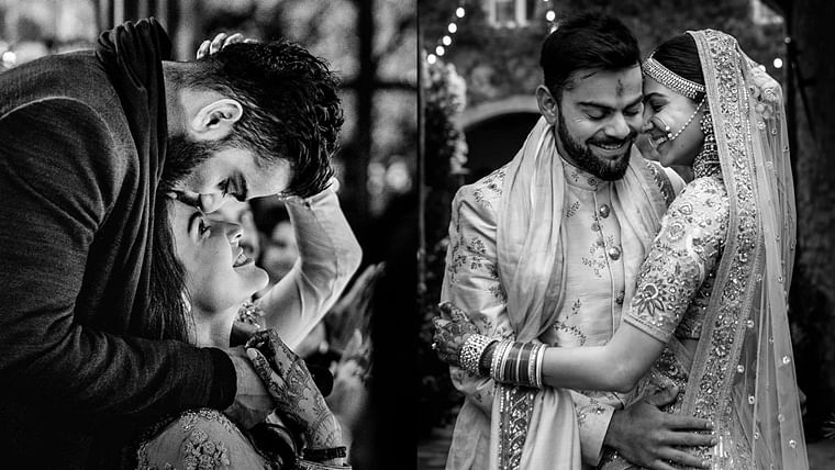 'Only love and nothing else': Virat, Anushka share heartwarming posts on second wedding anniversary