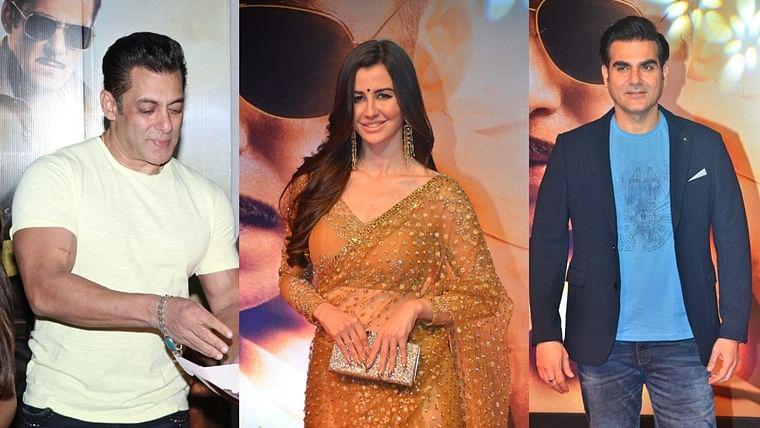 'Dabangg 3' screening: Arbaaz Khan's girlfriend Georgia Andriani channels her inner 'Rajjo' in golden saree