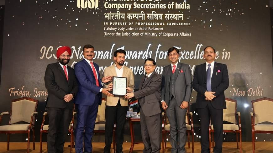 ICSI National Awards for Excellence in Corporate Governance
