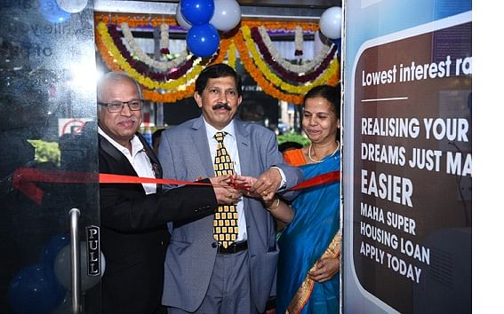 A S Rajeev, MD & CEO, Bank of Maharashtra inaugurates Aundh Branch, Pune