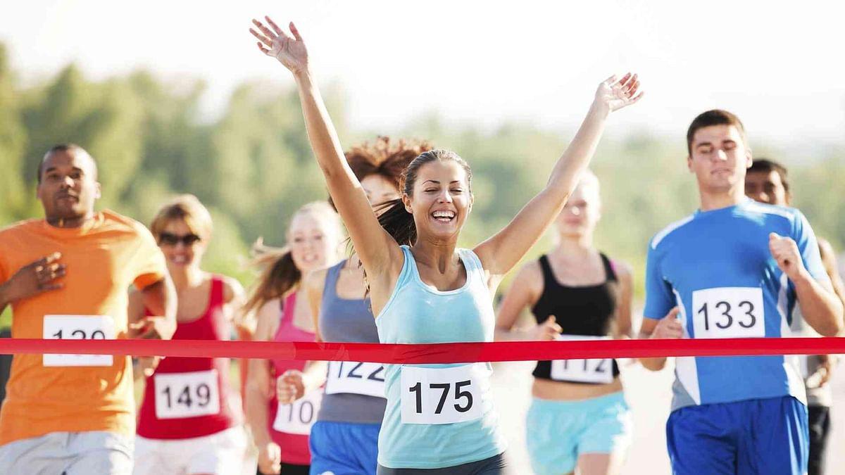 For health benefits, run a marathon: Study