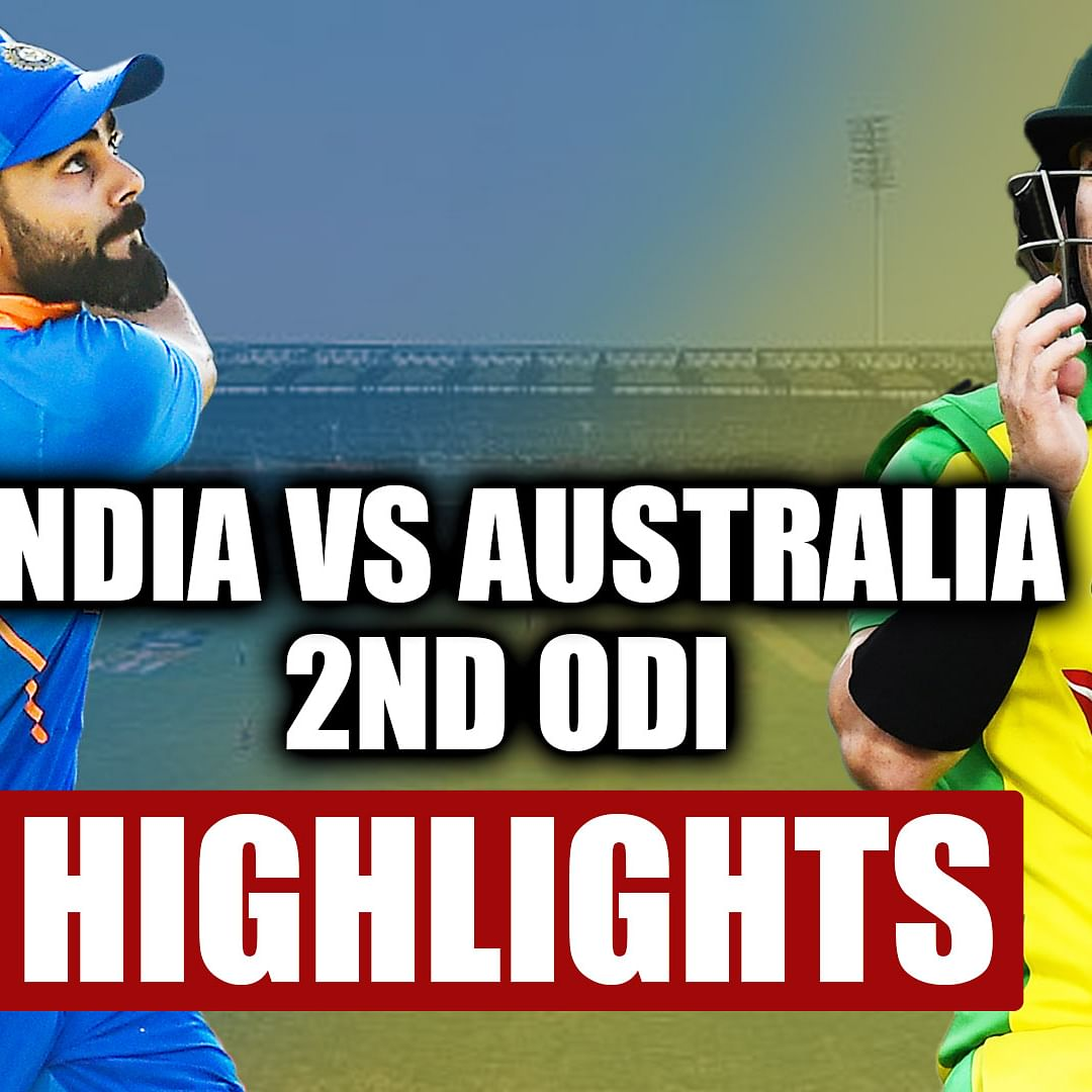 IND vs AUS 2nd ODI Highlights: India beat Australia by 36 runs to level 3-match series