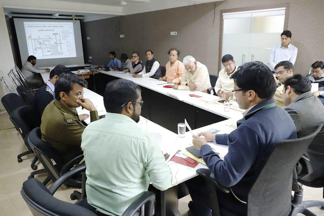 Ujjain: Collector reviews arrangements ahead of Mahashivratri