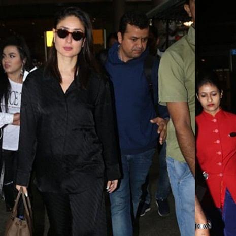 Kareena Kapoor Khan or Anushka Sharma, who nailed the all-black airport look?